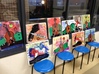 安芸教室の静物画