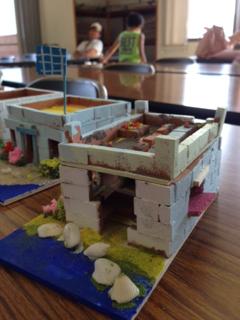 「海辺の別荘」夏の工作教室